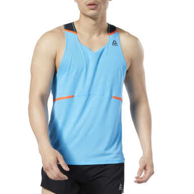 Polera Boston Tc Singlet Turquesa Hombre Running