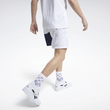 Men Classics White Classics Swim Shorts