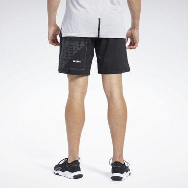 Men Yoga Black Epic Lightweight Shorts