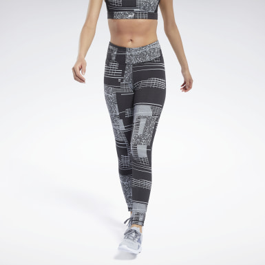 Licras Reebok Lux 2 Negro Mujer Fitness & Training