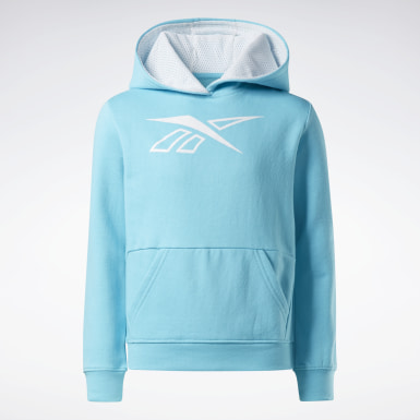 Kinder Fitness & Training Reebok Outline Hoodie Türkis