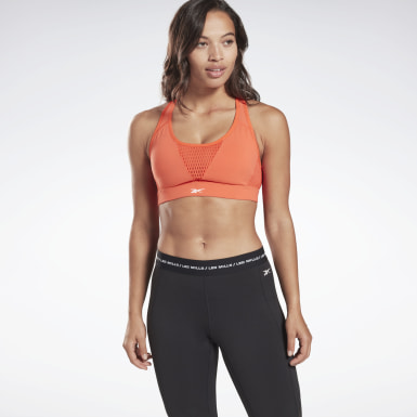 Women Studio Orange LES MILLS® Medium Impact Hero Bra