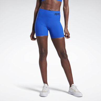 Women Yoga Blue VB Buffer 3.0 Shorts