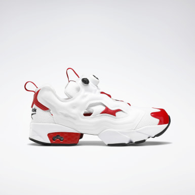 Classics White Instapump Fury Original Men's Shoes