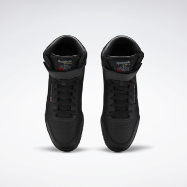 Men Classics Black EX-O-FIT Hi Men's Shoes