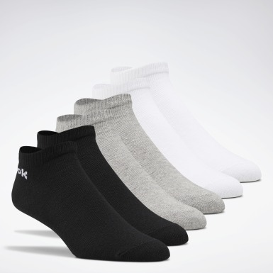 Fitness & Training White No-Show Socks 3 Pairs