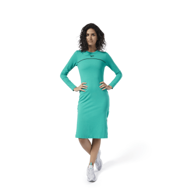 Women Classics Green Classics Vector Dress