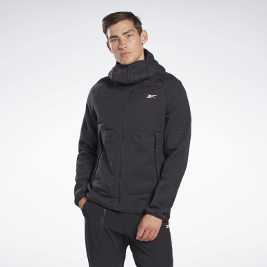 Men Outdoor Black Thermowarm Deltapeak Performance Jacket