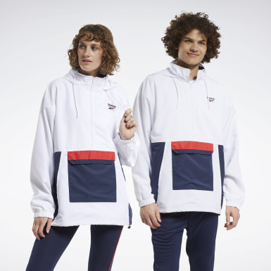 Classics White Classics Team Sports Anorak