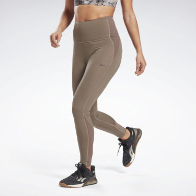 Women Training Grey Lux High-Rise Perform Leggings