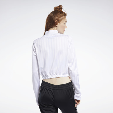 Kvinder Dance White Meet You There Crop Top