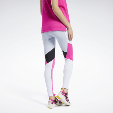 Women Cycling Grey Lux Colorblock 2 Tights