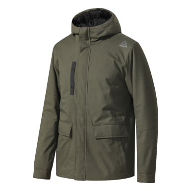 зеленый Парка Outdoor Padded