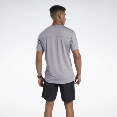 Men Fitness & Training Grey ACTIVCHILL Move Tee