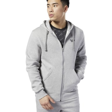Men Classics Grey Classics Fleece Sweatshirt