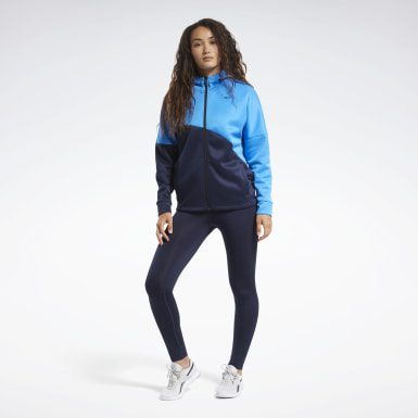 Women Fitness & Training Blue Track Suit