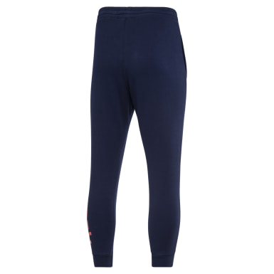Men Fitness & Training Blue Pant Fleece Men