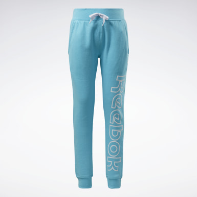 Girls Fitness & Training Turquoise Reebok Outline Jogger Pants