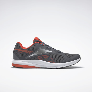 Men Running Grey Reebok Endless Road 2 Men's Running Shoes