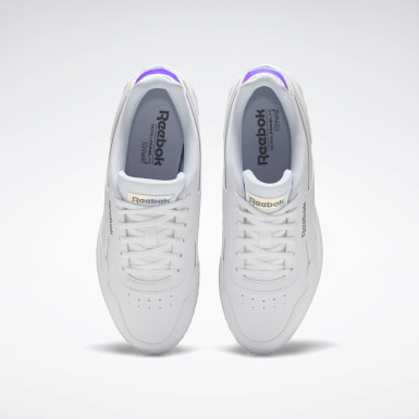 Women Classics White Reebok Royal Glide Ripple Clip Shoes