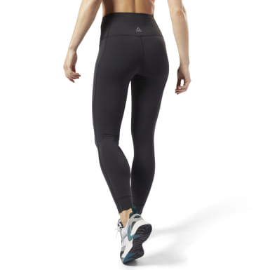 Frauen Yoga Reebok Lux High-Rise Tight 2.0 Schwarz