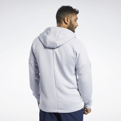 Heren Fitness & Training United by Fitness Hoodie met Rits