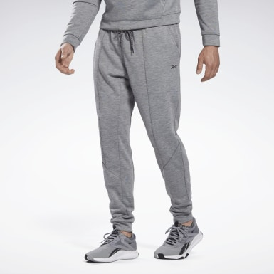 Men Yoga Grey Workout Ready Joggers