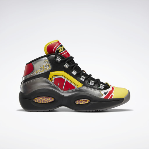 Power Rangers Question Mid Basketball Shoes