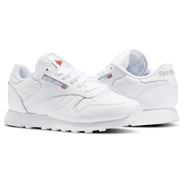 separation shoes 00ed1 775e8 Reebok Classic Leather - White   Reebok US