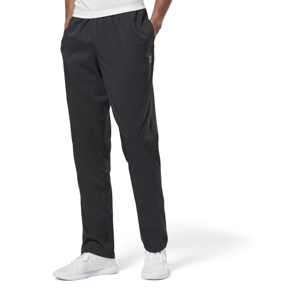 NoirFrance Essentials Reebok Toile Training En Pantalon LGUzpqSMV