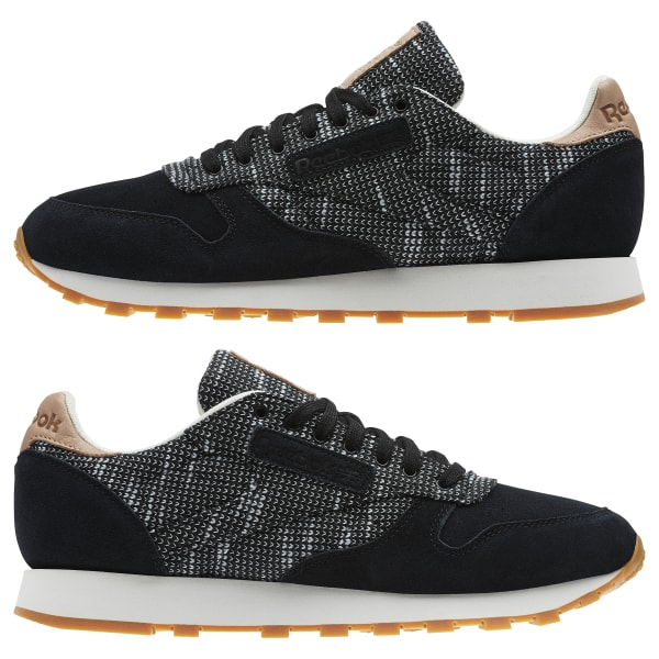 9aee21ee432d5 Reebok Classic Leather EBK - Black