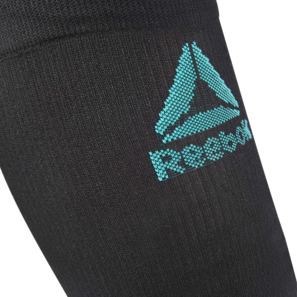 Knitted Compression Calf Sleeve - Black