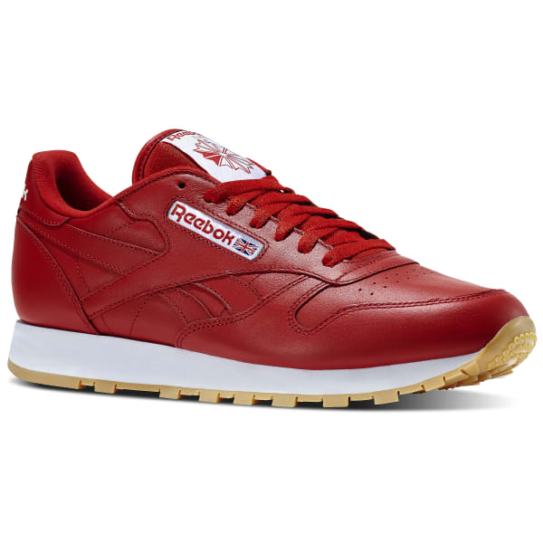 Reebok Classic Leather Gum - Red