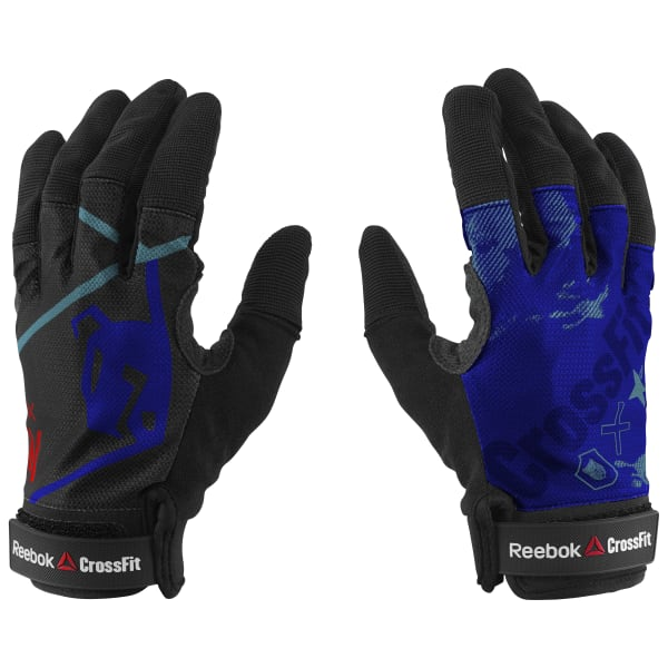 Reebok Crossfit Training Gloves: Reebok CrossFit Training Gloves - Blue