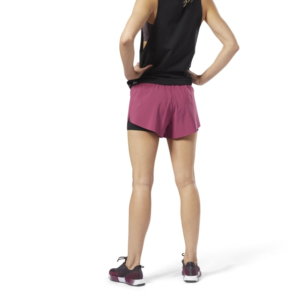 7cdb4e62 Reebok 2-in-1 Perforated Shorts - Red | Reebok Norway