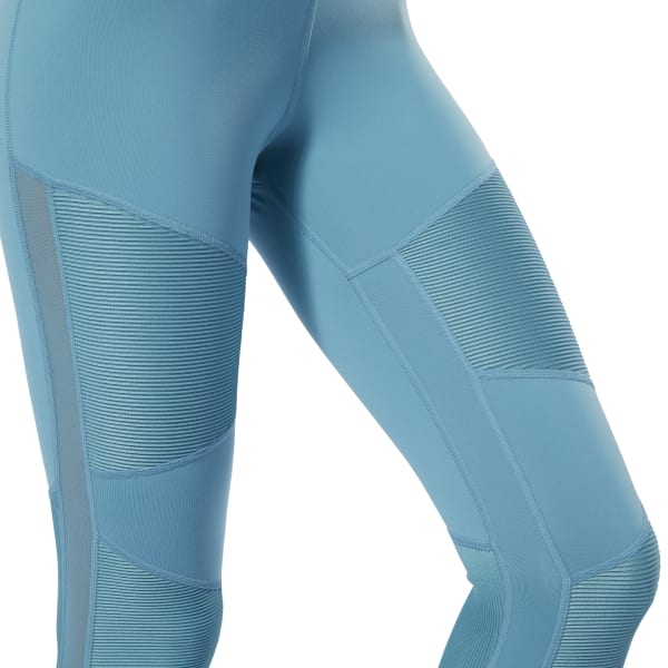 52ba11a091 Reebok Cardio Lux High-Rise Tights - Turquoise