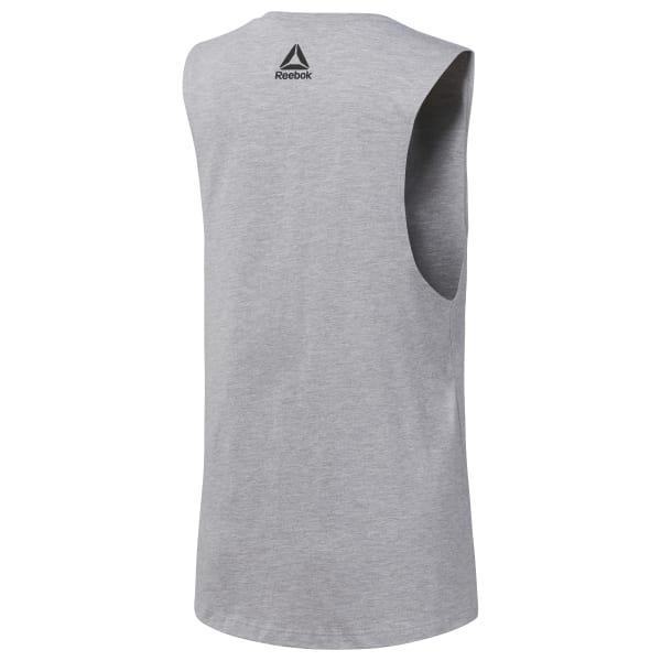 c57c2614 Reebok Be More Human Muscle Tank - Grey | Reebok US