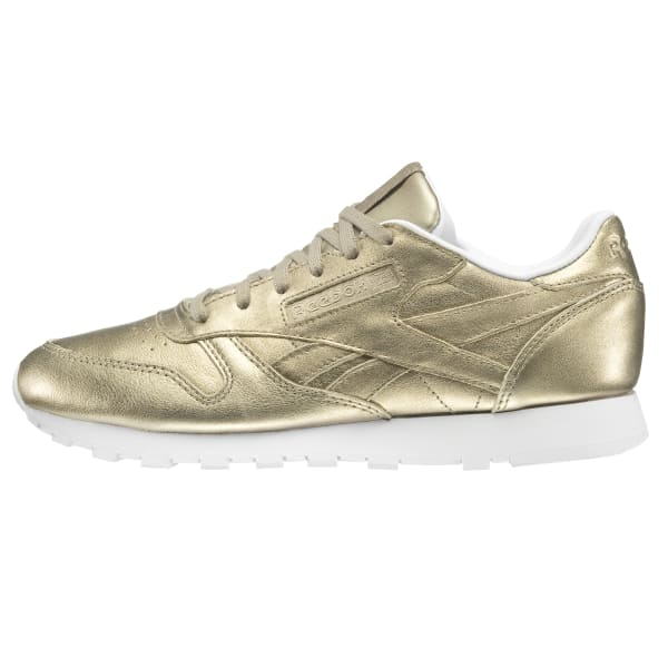 7fd0cd81d60 Reebok Classic Leather Melted Metals - Gold