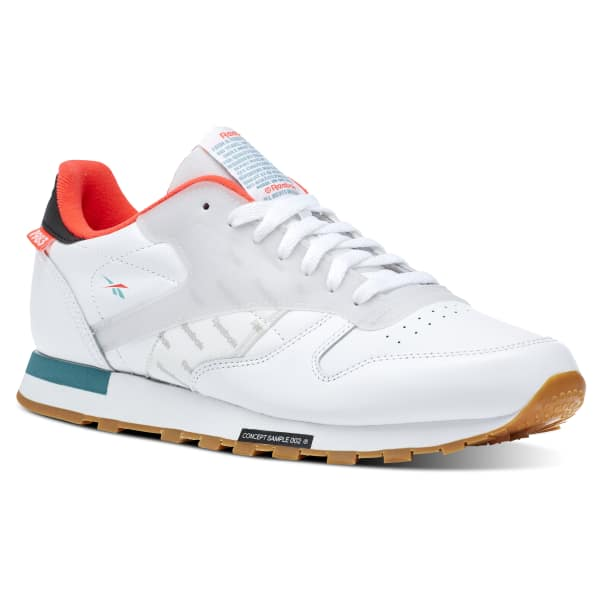 86f243d0d4a5a Reebok Classic Leather Altered - White