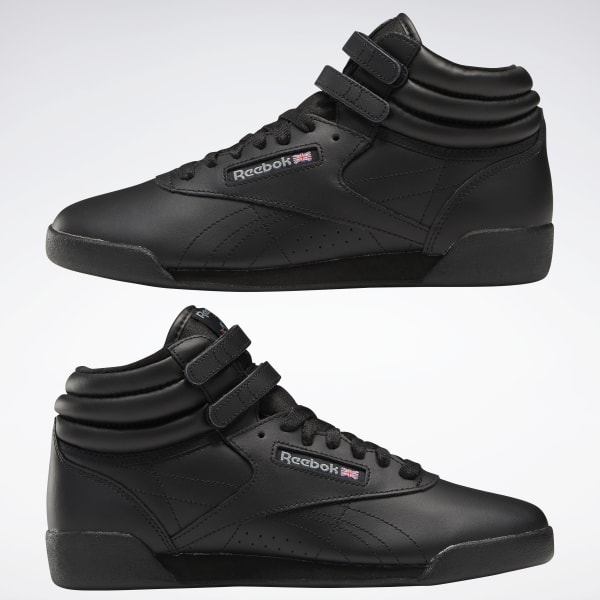 Reebok Freestyle Hi - Grade School - Black | Reebok US