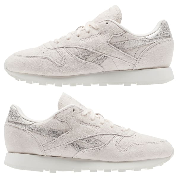91eac2733bfc5 Reebok Classic Leather Shimmer - Pink