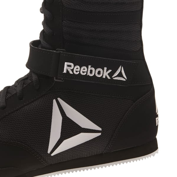 Reebok Combat Boxing Boots In Black