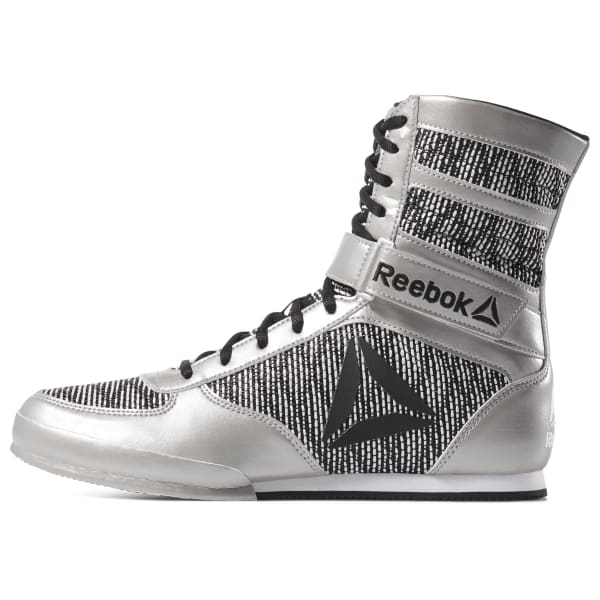 Boxing Boots - Silver   Reebok