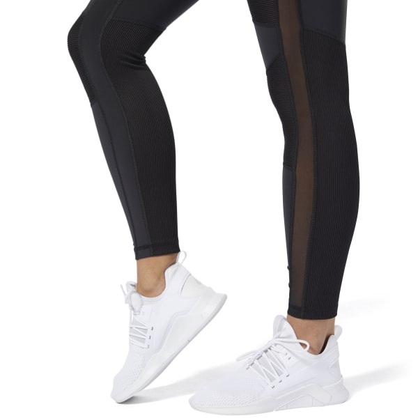 9eb2430765 Reebok Cardio Lux High-Rise Tights - Black