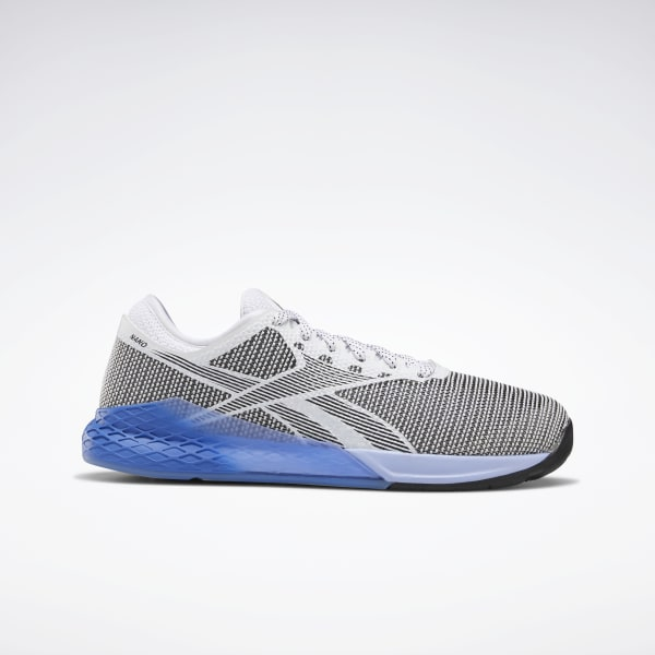 reebok black and blue shoes