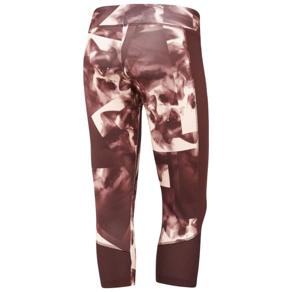Capris estampados Workout Ready - Smoke