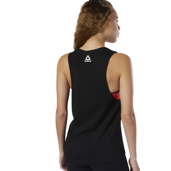 ef8ead96 Reebok Be More Human Muscle Tank - Black | Reebok US