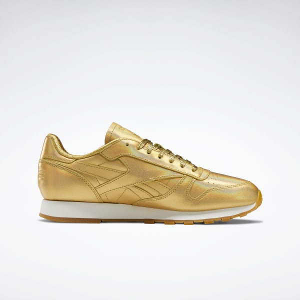 eximir puenting frontera  Reebok Classic Leather Shoes - Gold | Reebok US