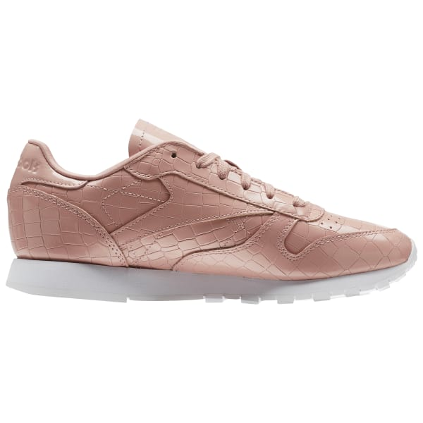 618293592a377 Reebok Classic Leather Crackle - Pink