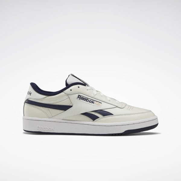 Details zu REEBOK MEN'S CLASSIC TRAINERS LEATHER WORK OUT NYLON REVENGE NEW SHOES CLUB C 85